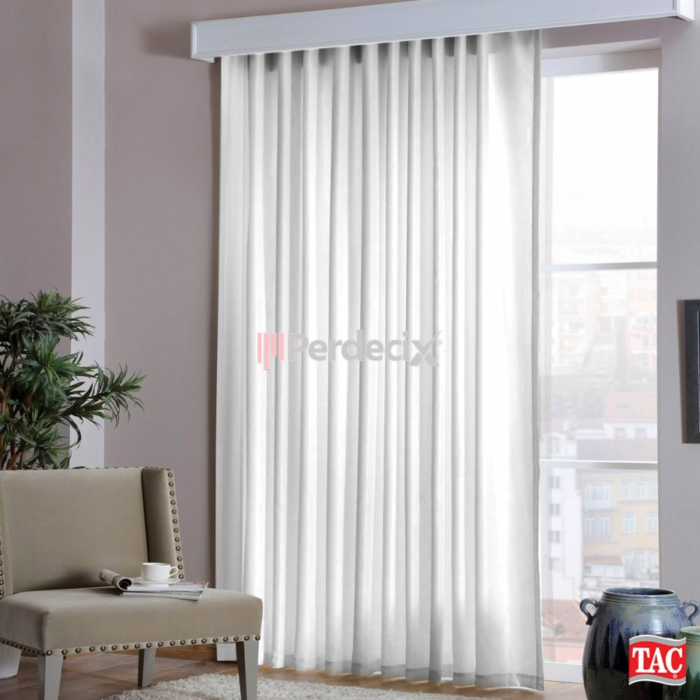 1st Class Quality Satin Sunshade Curtain  - Cream