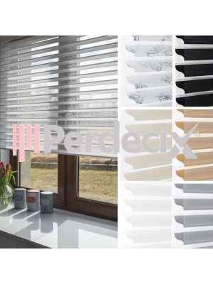 White Silhouette Blinds - 5 Colours