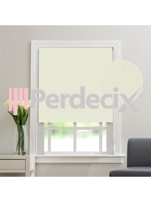 Matt Linen Roller Blinds - Ekru (20 Colors)