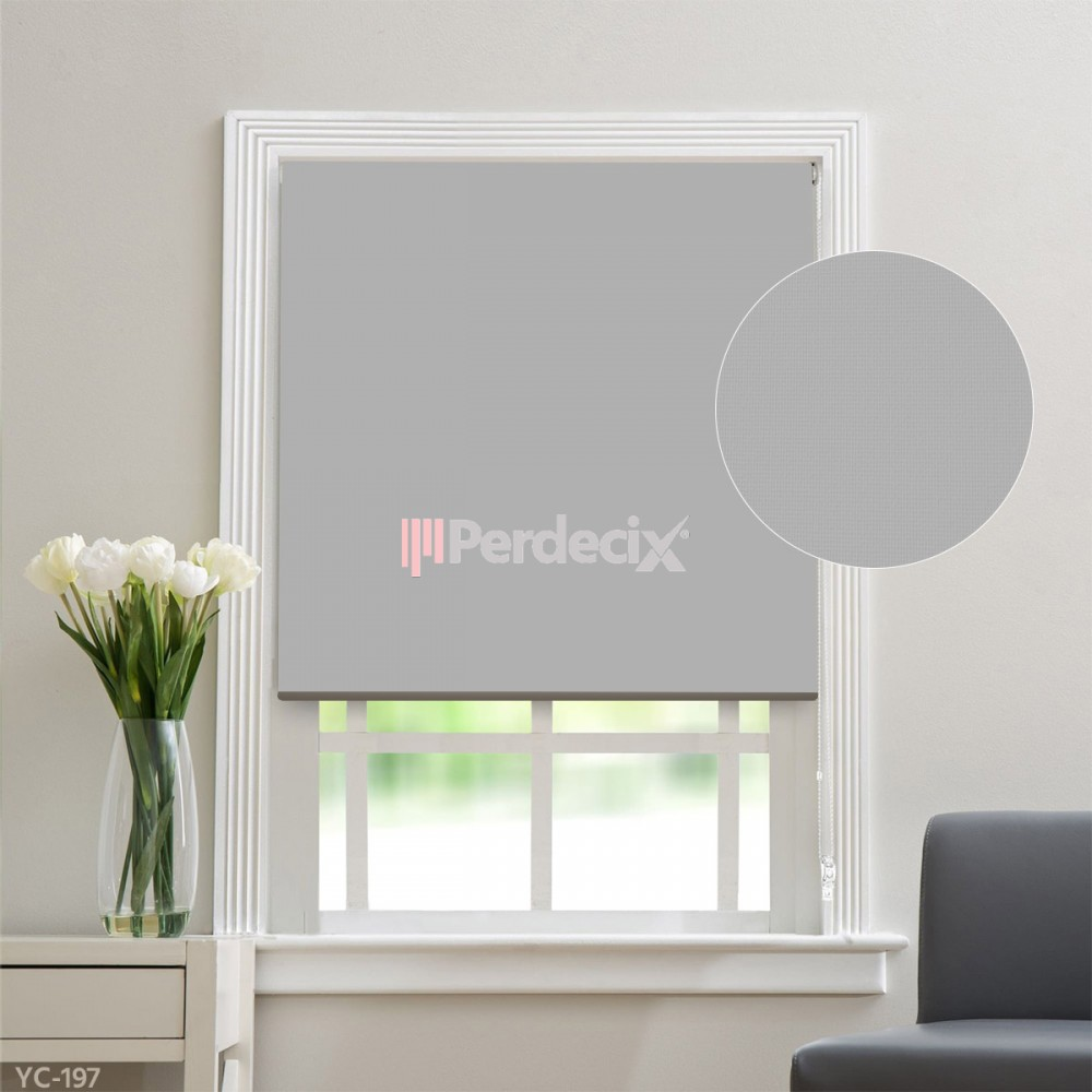 Matt Linen Roller Blinds - (20 Colors)