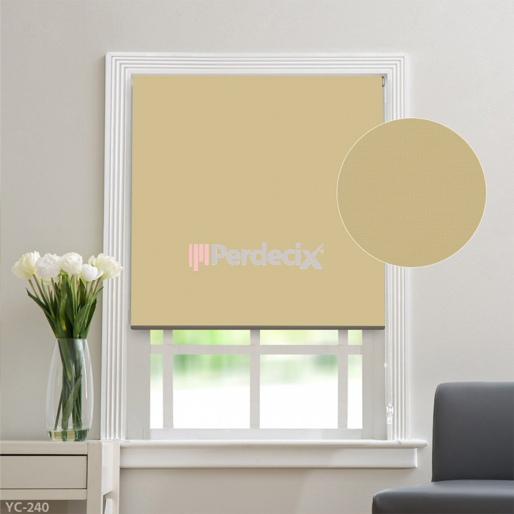 Matt Linen Roller Blinds - ? (20 Colors)