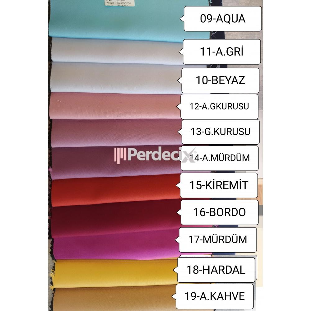 Perdecix Blackout Curtain 19 Color Option