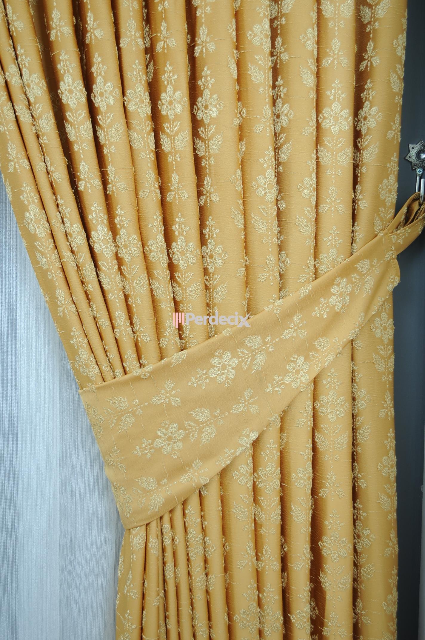 Jams Fon Perde - Sarı