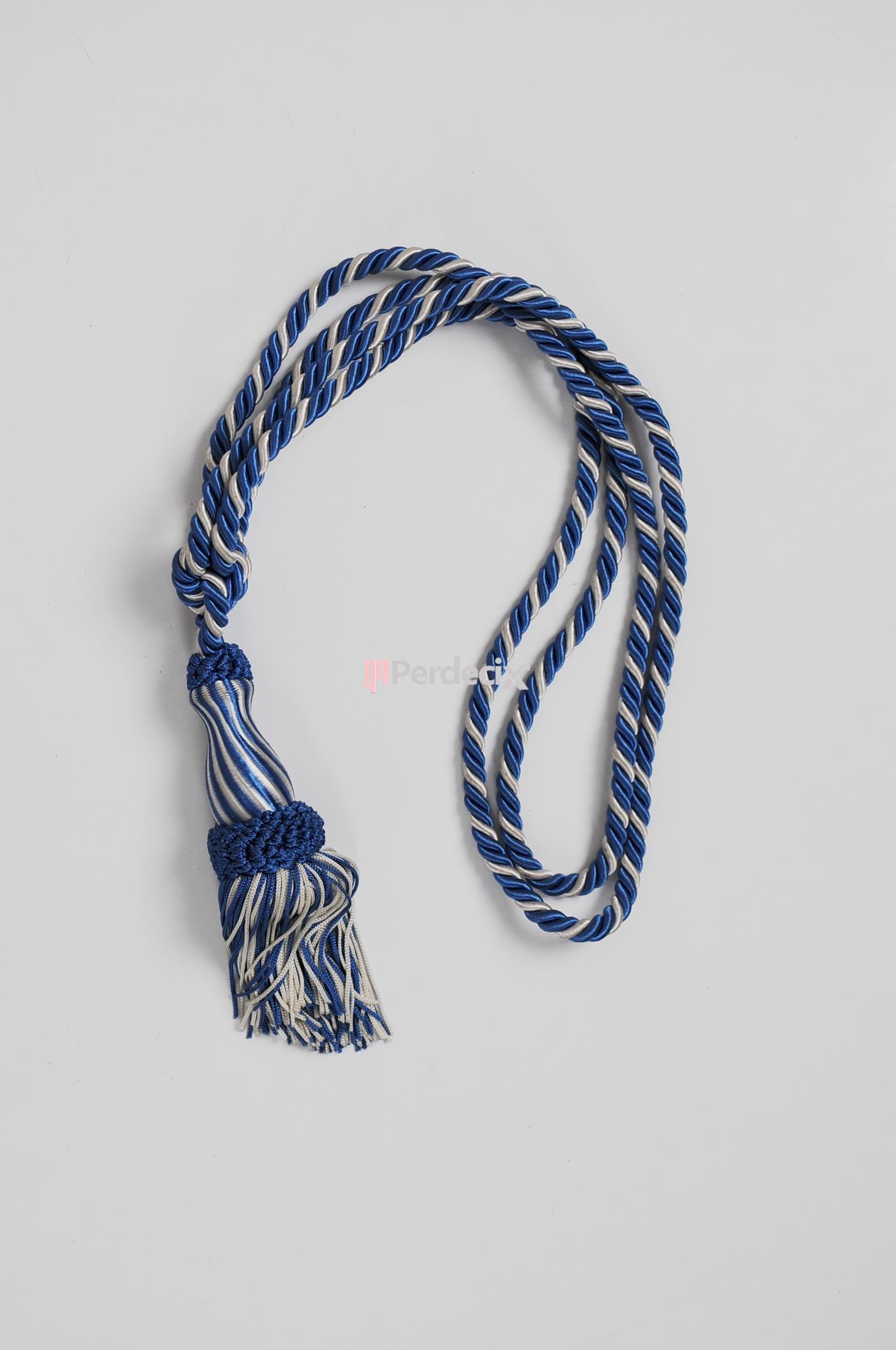 Minyatür Braçol Fon Bağı - Bej / Mavi