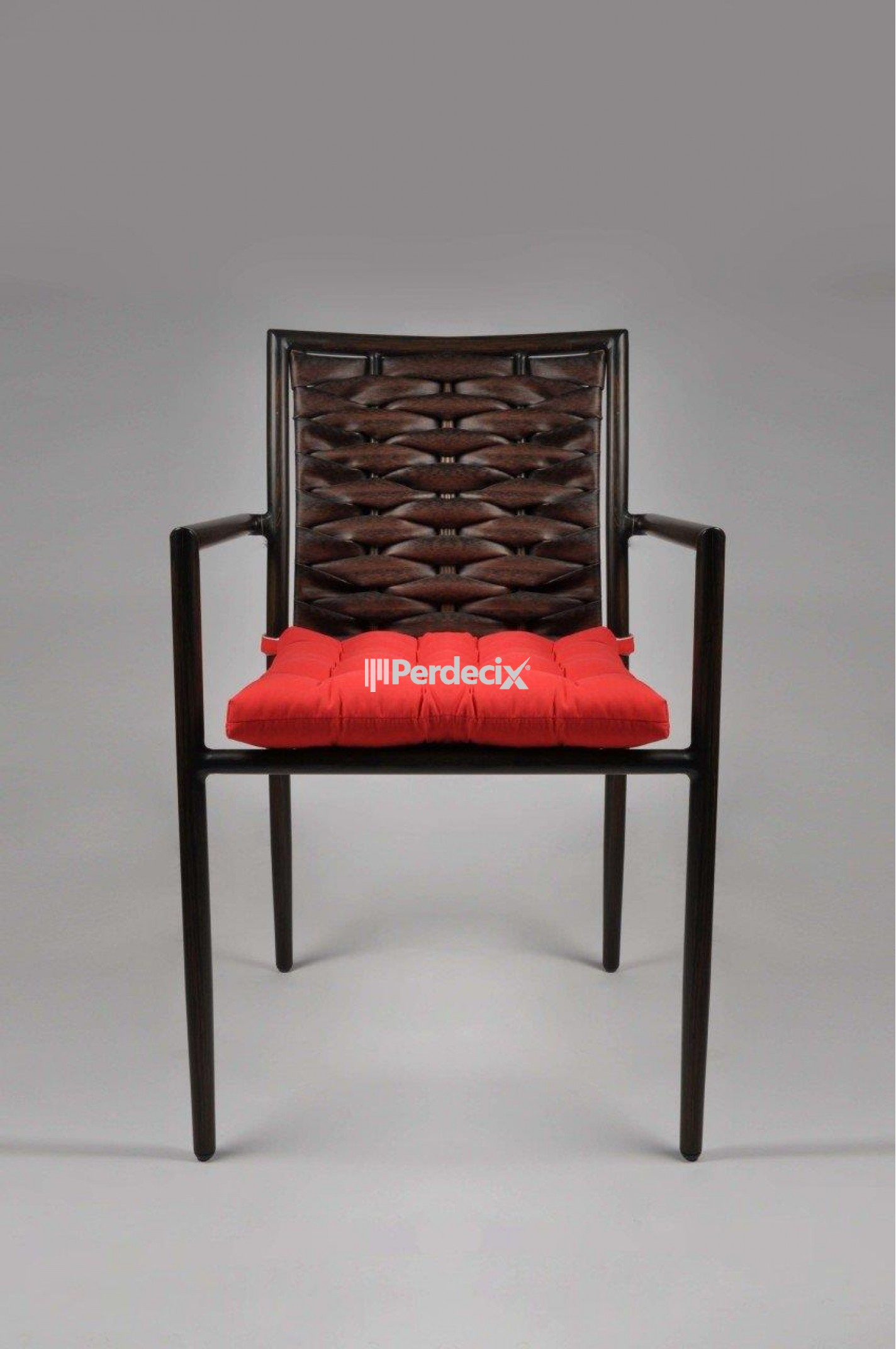 Sezontrendi Rattan Sandalye Minderi - 50x50 Kırmızı