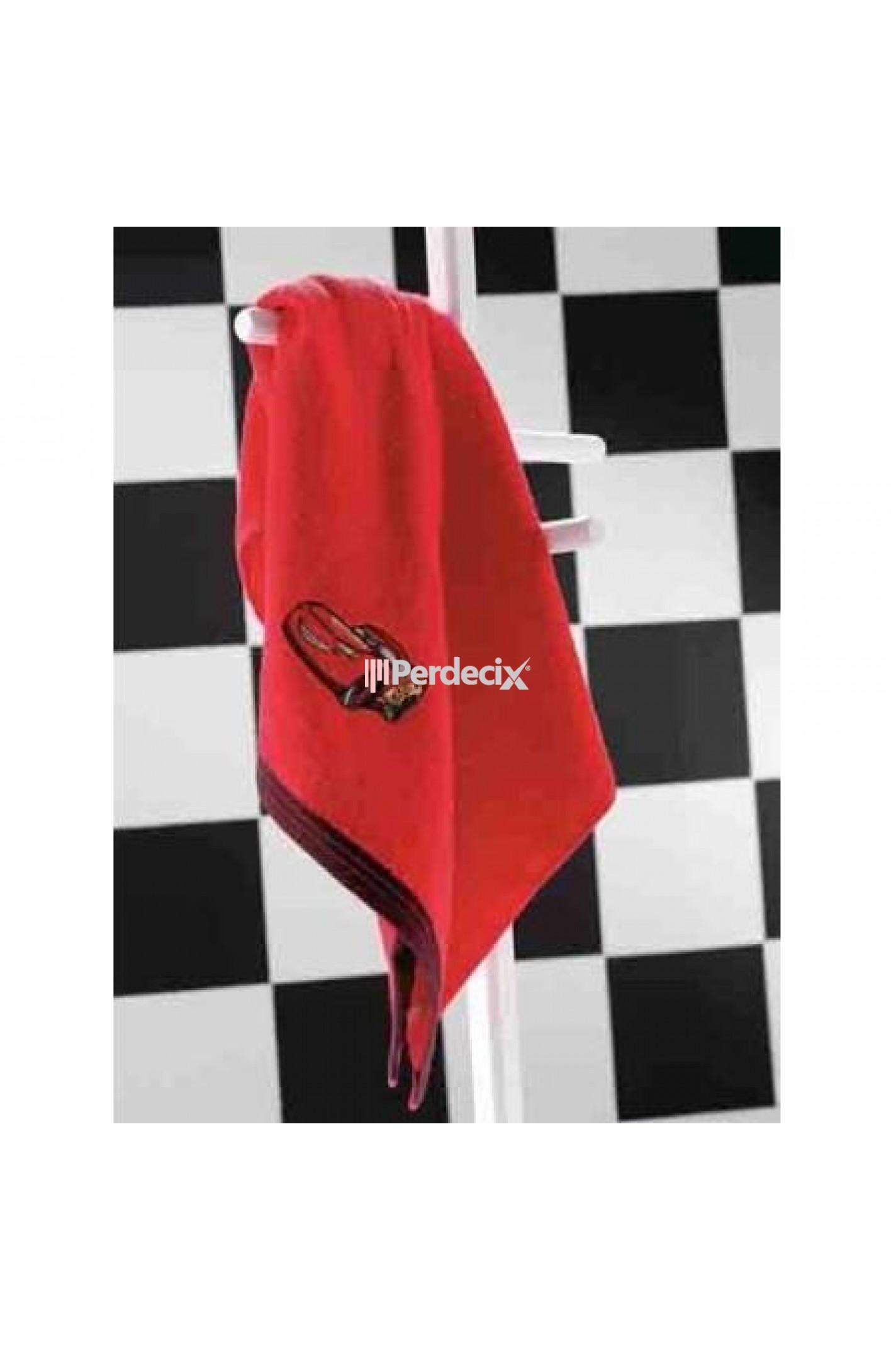 Taç Cars Banyo Havlusu - 70x140 Kırmızı
